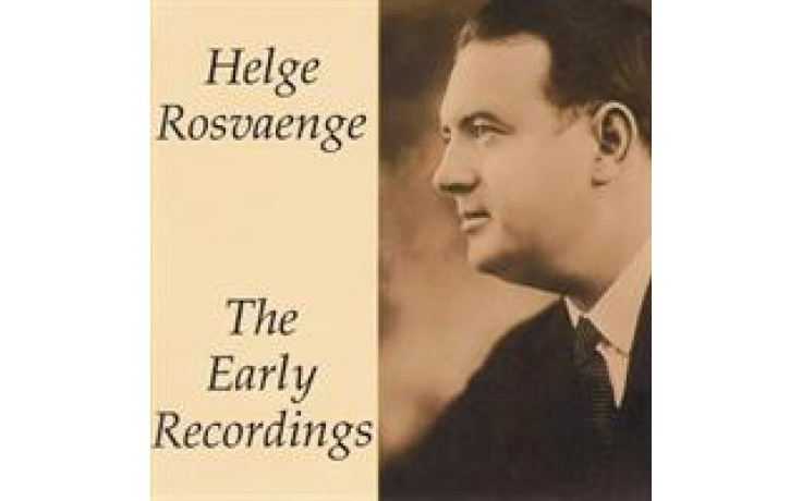 Helge Rosvaenge Early Recordings Vol 1-31