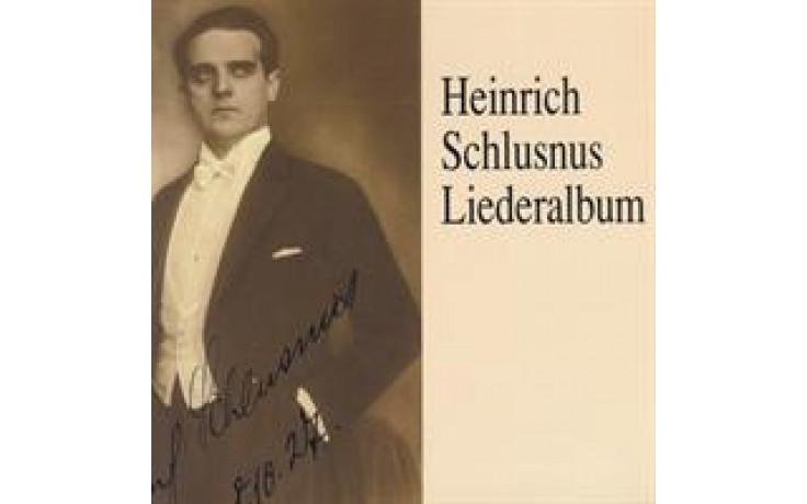 Heinrich Schlusnus Liederalbum 1-31