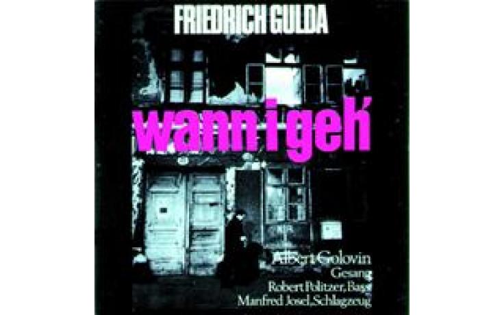 Friedrich Gulda Wann I Geh`-31