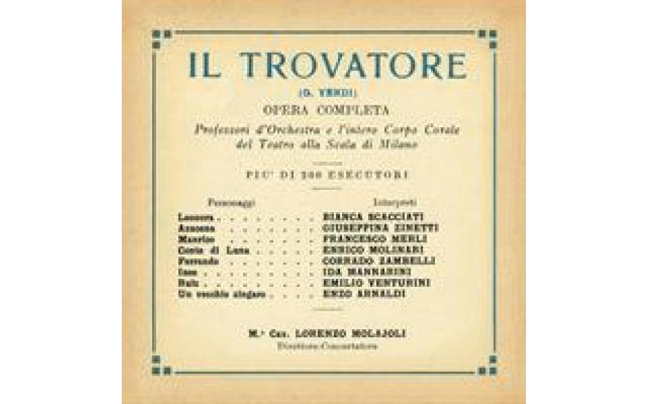 Il Trovatore 1930-31