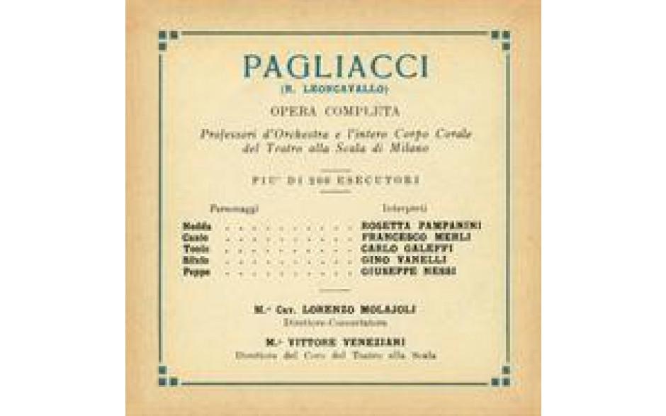 Pagliacci 1930-31