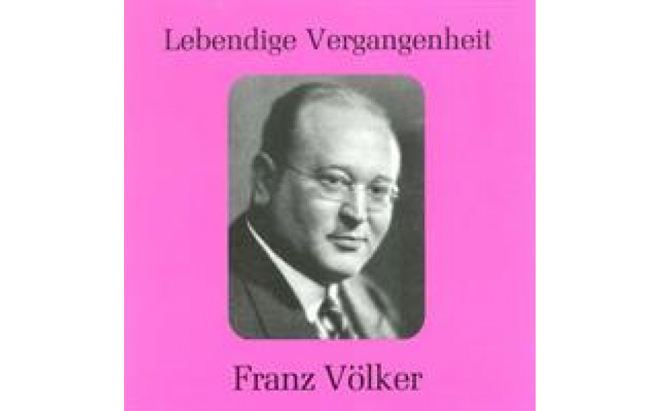 Franz Völker Vol 1-31