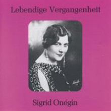 Sigrid Onegin Vol 1-20