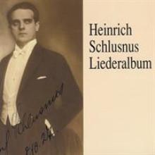 Heinrich Schlusnus Liederalbum 1-20