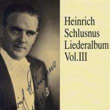 Heinrich Schlusnus Liederalbum Vol 3-20