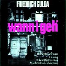 Friedrich Gulda Wann I Geh`-20